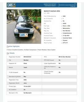 Maruti Suzuki Zen 2006 CNG & Hybrids 50000 Km Driven