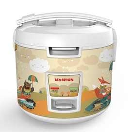 Maspion Magic Com 1.8 Liter 3in1 395 Watt MRJ1892 Rice Cooker MRJ-1892