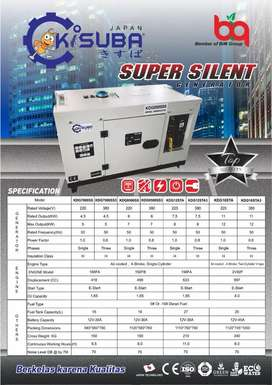 Genset baru KISUBA kdg 12sta3 disel silent 10kva promo sedia type lain