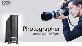 3 YEARS WARRANTY - PHOTOGRAPHER SPECIAL CPU - HOME DELIVERY - AUTOC AD