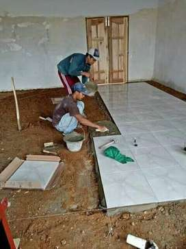 Jasa pasang keramik, cat & konstruksi rumah lainnya