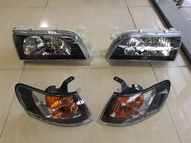 Toyota Corolla AE101 1994 Black Smoke GT Headlights For Sell
