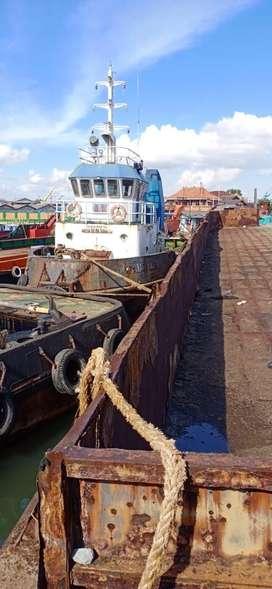Tongkang dan Tugboat