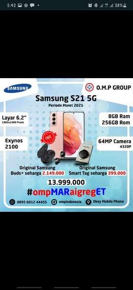 Samsung Galaxy S21 Promo MaretGreget (Free Ongkir antar sampai rumah)