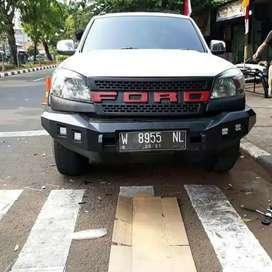 Bemper depan ford ranger roker bar