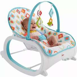 FISHER PRICE INFANT TO TODDLER ROCKER RED POTTY CHAIR FREE