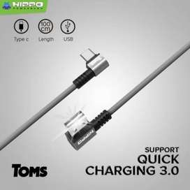 Rapid Charger + Kabel tipe C 18w HIPPO