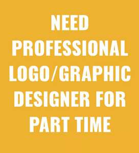 Logo/Graphic Designer required for the part time