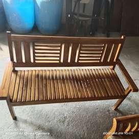 Sofa set teak wood