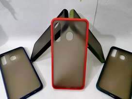 Case SAMSUNG A30 Shockproof Transfarant Matte Case