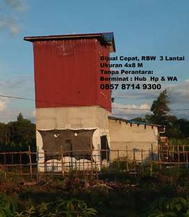 Rumah Walet Uk. 4X8. 3 Lantai di Rasau jaya patok 18