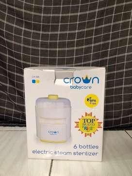 Tempat steril botol susu bayi CROWN