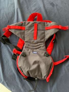 Walker and baby carrier