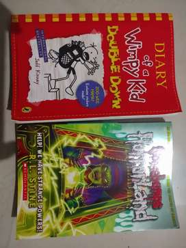 Goosebumps & Diary of a Wimpy kid book at Rs. 399.