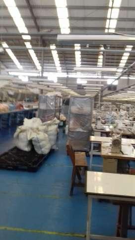 Pabrik Garmen masih aktif