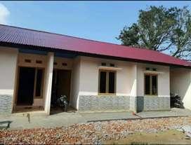 Di kontrakan rumah bangunan baru