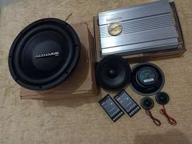 Speaker Fonalivo + Power Buddy + Subwoofer altitude