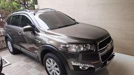 Dijual Captiva 2.4 2013/2011 bensin AT istimewa low KM