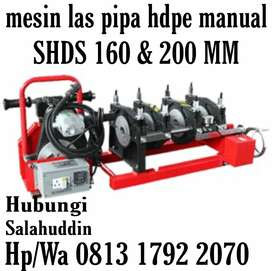 Mesin Las Pipa Hdpe Manual160 4Clamps harga murah