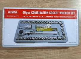 MN Kunci sock socket sok sohk kunci roda 40pcs