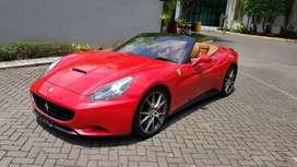 Ferrari california 2009 red