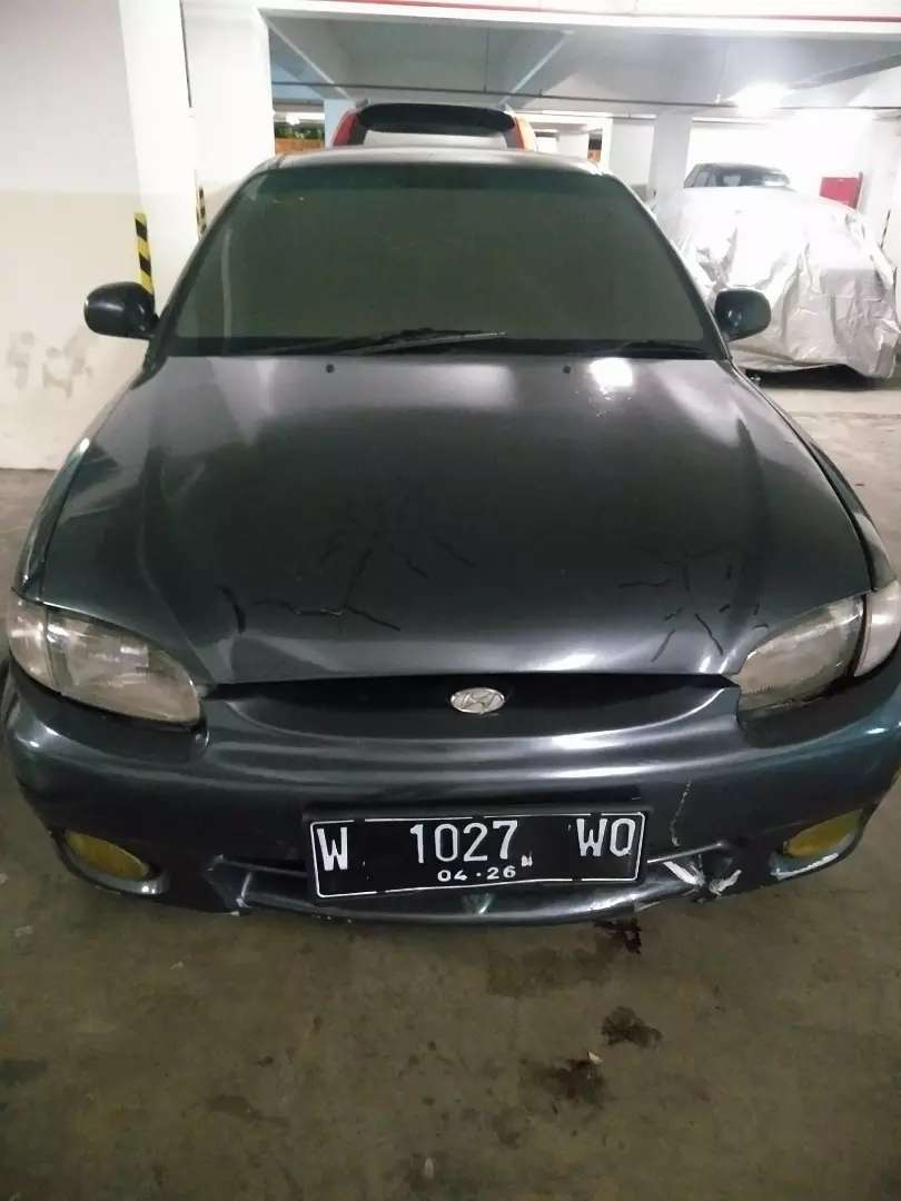 Hyundai excel Mt 2003 abu-abu metalik