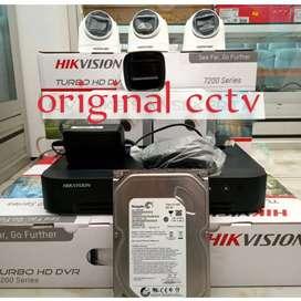 Promo paket kamera CCTV Full HD gambar jernih
