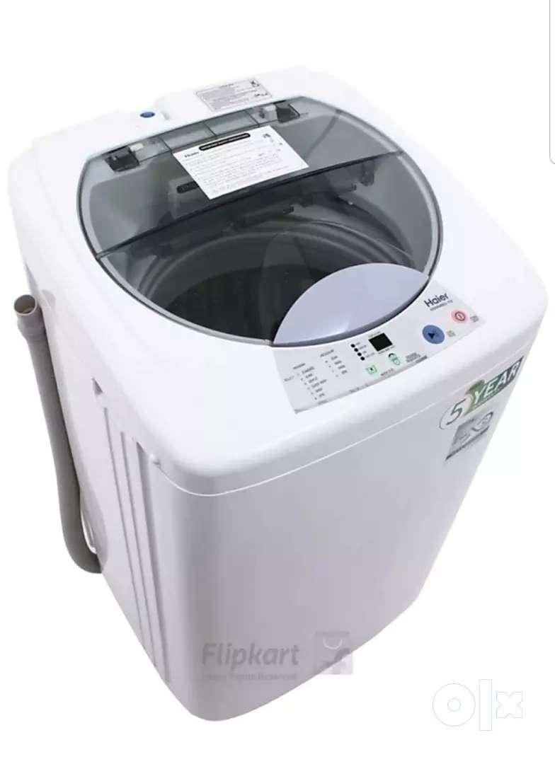 Haier 6kg fully automatic washing machine (White) 0