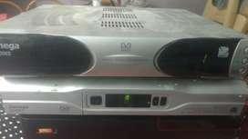 2 dish TV Box  And 1 Airtel Seter Box