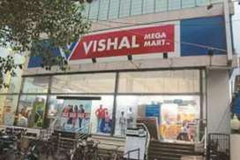 Free HIRING in SHOPPING mall same DAY joining