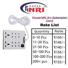 PowerNRI 8+1 Extension Cord