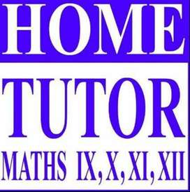 Home Tuition Mathematics, 10th to 12th SB/CBSE