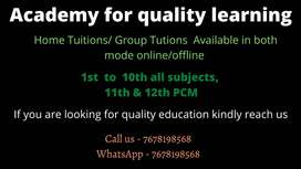 Home Tuitions, Teacher, In Delhi, Noida