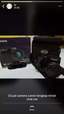 Camera sx430 is