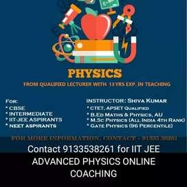 PHYSICS- IIT-JEE ADVANCED, NEET PHYSICS,