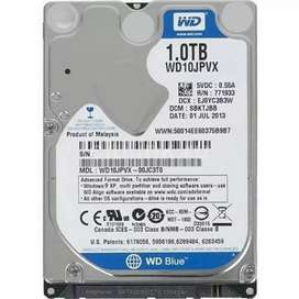 Laptop Hard Disk 1TB in Perfect Condition