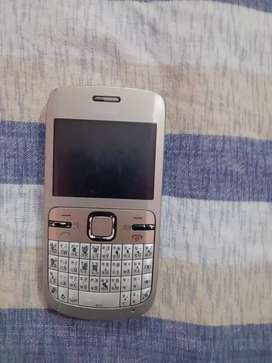 NOKIA C3 phone with 2MP camera and bluetooth