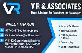 File Yous INCOME TAX and GST RETURN on time