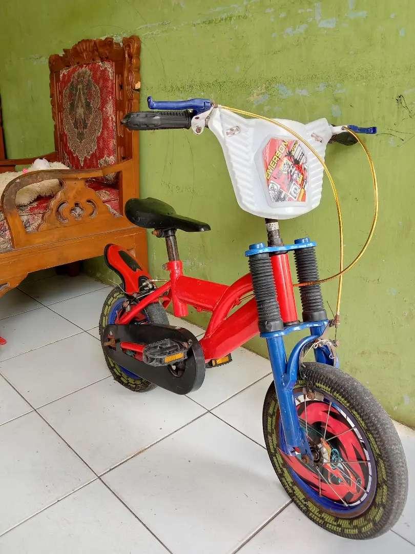 Sepeda anak laki laki