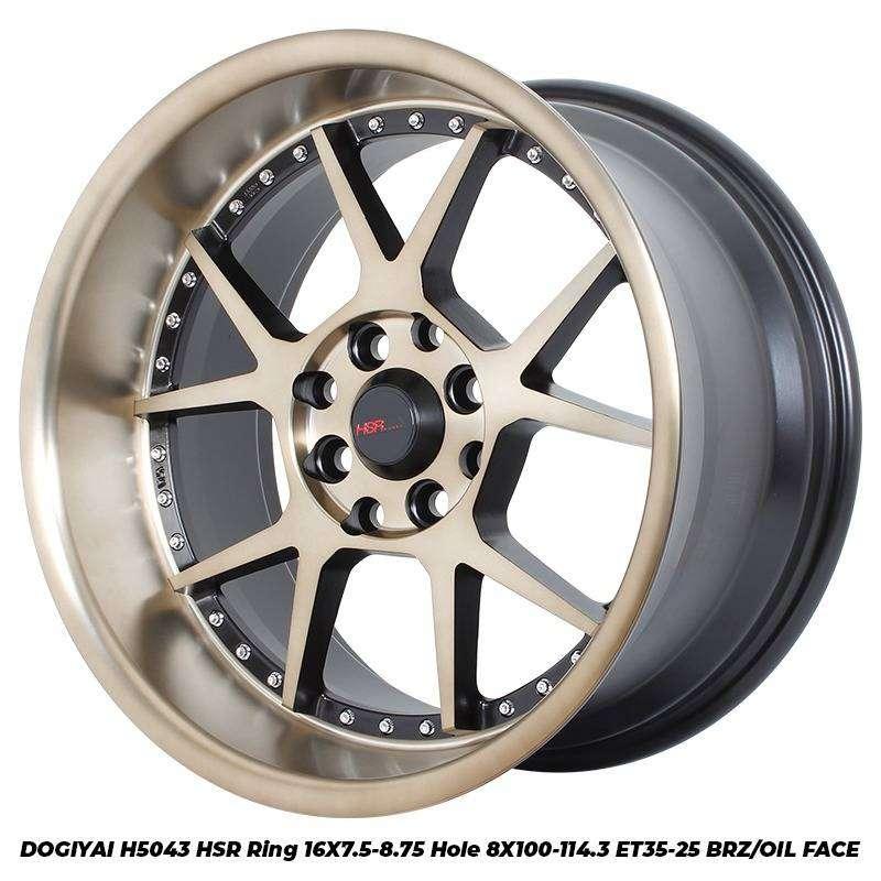 Terbaru Velg Racing HSR R16 Keren Buat Nissan ( March ) 0