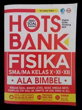 PRELOVED BUKU HOTS BANK FISIKA