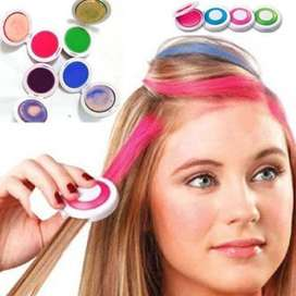 Pack of 4 Hair Color Chalk