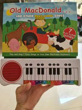 Sing along book Old mcdonald