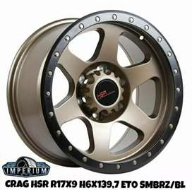 Velg Crag R17*9 H6*139 et0 Bronze Black lip