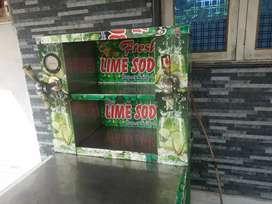 Fresh lime soda machine