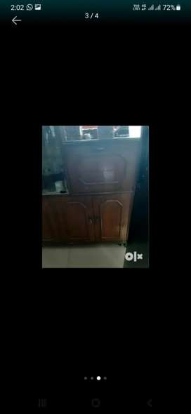 Tv and crockery cabinet