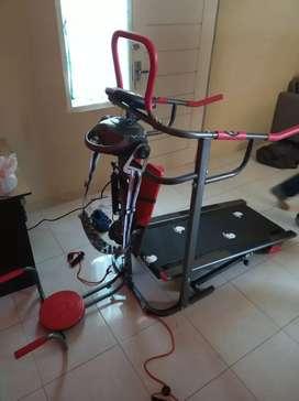 Treadmill manual 6 fungsi ( manual treadmill elektrik )