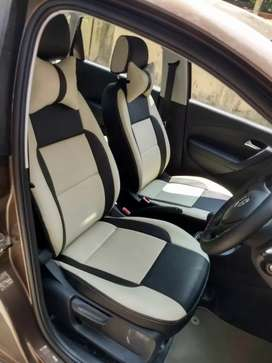 Car seat cover and upholstery