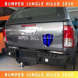 Rear bumper hilux revo hilux vigo bullbar bumper jual bemper