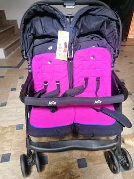 One of the highest weight-fully featured twin stroller available